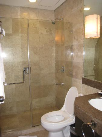 shower room and toilet Picture of Crown Regency Hotel Makati