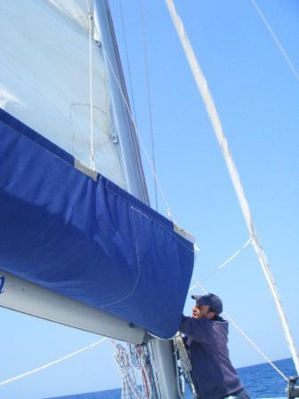 Santorini Sailing: Ted, the Captain