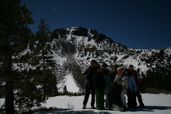 Mammoth Lakes, CA: Full Moon Snowshoe Tour- Tamarack Lodge