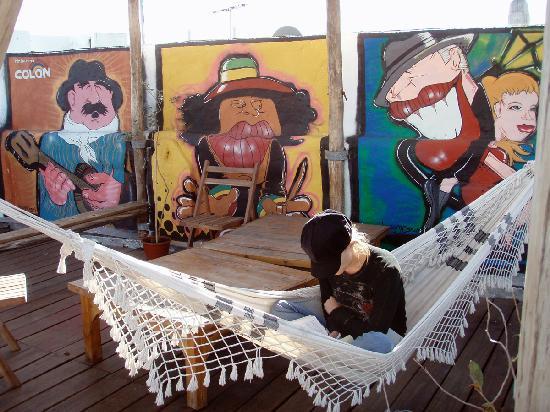 Posada al Sur: Rooftop deck