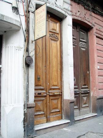 Posada al Sur: Front door