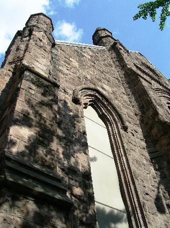 First Unitarian Church of Philadelphia: First Unitarian Church on Chestnut St ~ Looking Up