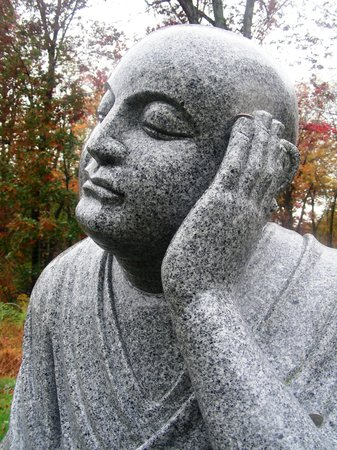 Carmel, NY: Chuang Yen Monastery ~ 1 of the Outdoor Buddha Statues