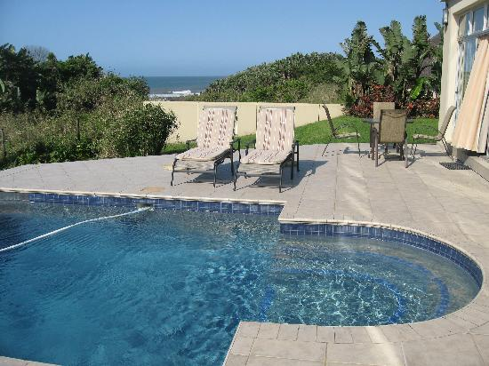 White Shores Guesthouse: the pool