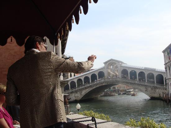 Al Ponte Antico Hotel: Matteo