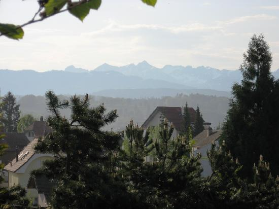 Au Parc Hotel Fribourg: One of the views from the Au Parc Hotel