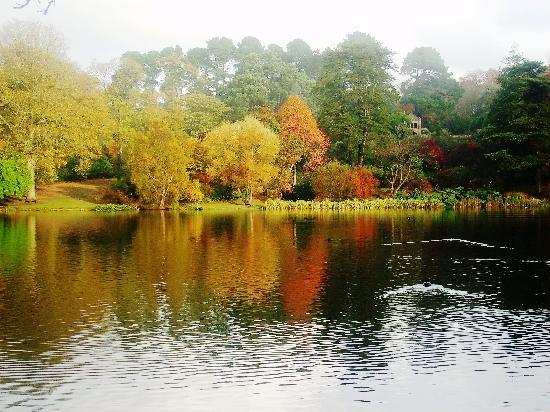 Mount Stewart House: Mountstewart lake