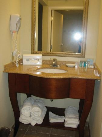 Hampton Inn & Suites Alexandria Old Town Area South: Bathroom Vanity Area