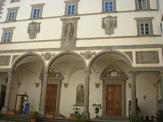 Vallombrosa, Italie : Abbey