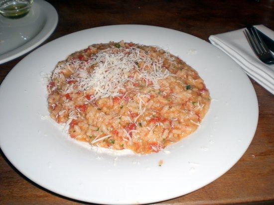 Il Primo: The tomato and balsamic risotto