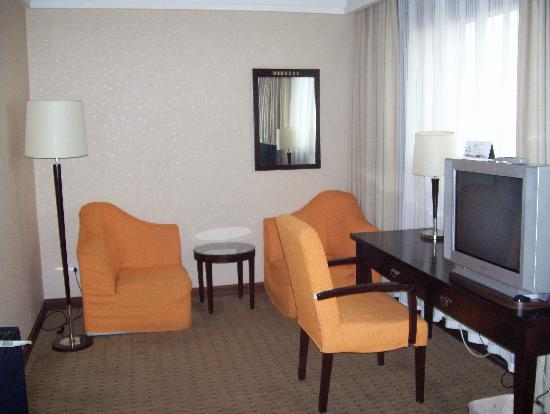 Redwall Hotel Beijing : Upgrade for 100 yuan!  Very nice!