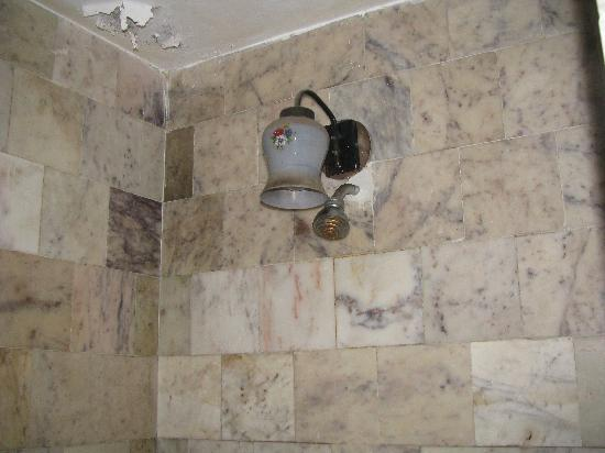 Ooty Gate Hotel: shower missing- elctric point at same place putting people at risk