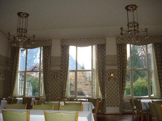 The Park-Garden Hotel at Mattenhof Resort: Dining Room