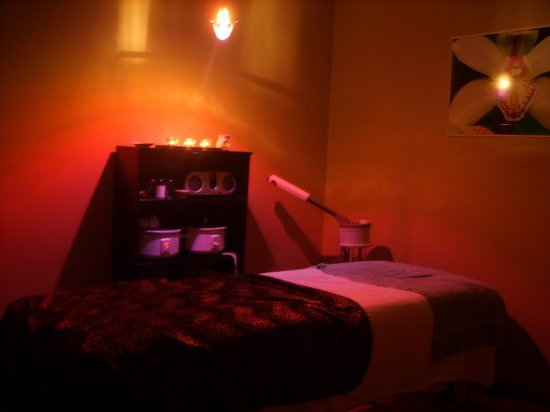 Black Orchid Spa: my facial room