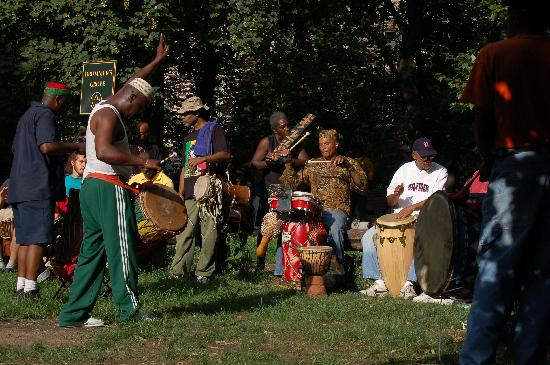 New York City, NY: Drummers Circle - Prospect Park
