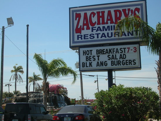 Zachary's Restaurant: Zacharys in Cape Canaveral