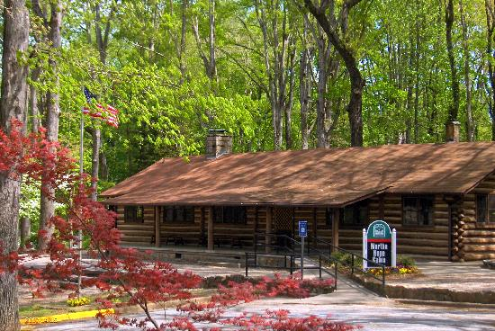 Martha Hope Cabin Central Park Gainesville GA Used by Girl Scouts and for