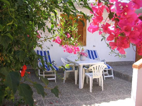 Il Gabbiano Blu: veranda