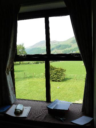 Dolffanog Fawr: The view from our bedroom window