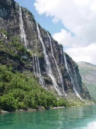 Hotel Union Geiranger: The Seven Sisters