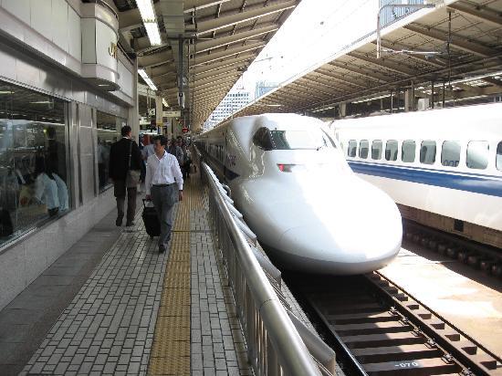 Japon : Shinkansen a Tokio Station