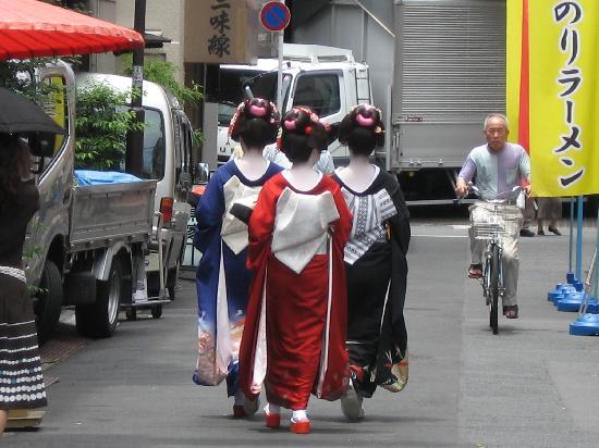 Japon : Geishe così...in giro...