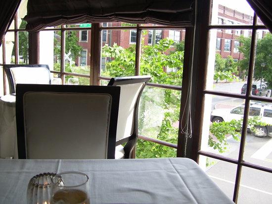 St. John's Restaurant: Our table on second floor