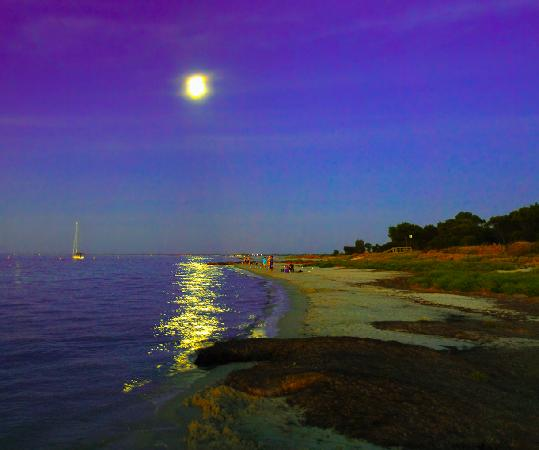 Abbey Beach Resort: Looking towards Busselton