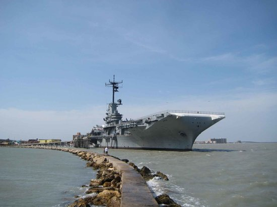 ‪‪Corpus Christi‬, تكساس: USS Lexington‬