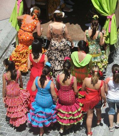 Nerja : San Isidro fiesta - May 15, 2009