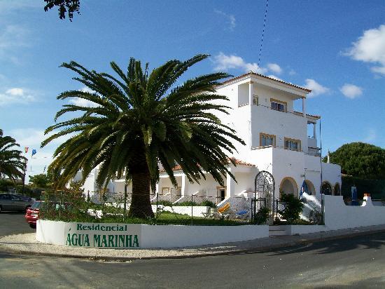 Agua Marinha: outside of the hotel