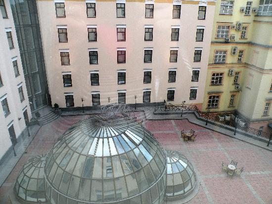 Moscow Marriott Grand Hotel : View from the room