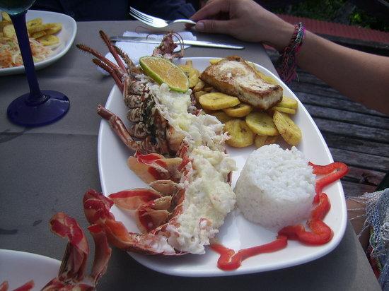 Capurgana, Colômbia: mi almueerzo del 25 de diciembre