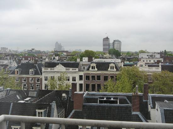NH Amsterdam Schiller: view from our window