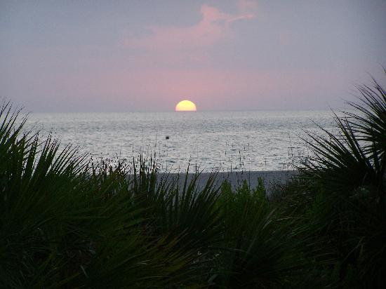 The Surf Club of Marco: Beautiful Gulf Sunset