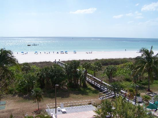 The Surf Club of Marco: The awesome view from the balcony
