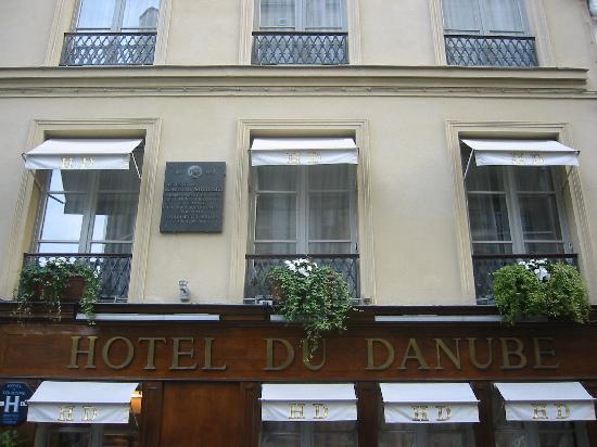 Hotel du Danube St. Germain : Hotel du Danube facade
