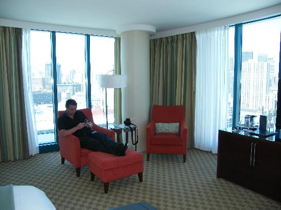 อินเตอร์คอนติเนนตัล ซานฟรานซิสโก: junior suite on 26th floor