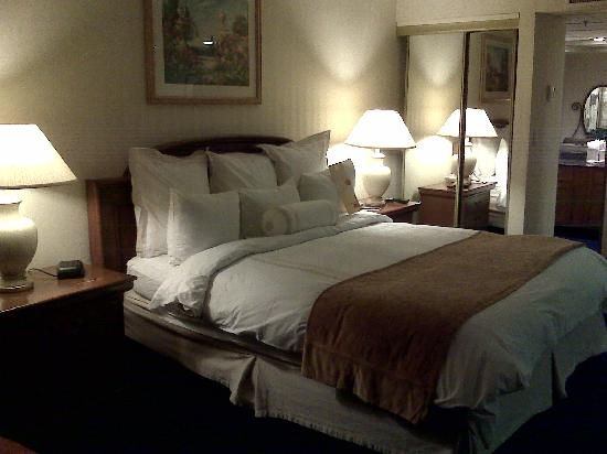 Radisson Ontario Airport: King-size bed