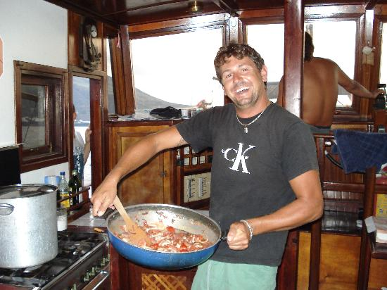 Salina Relax Boats: pranzo a bordo