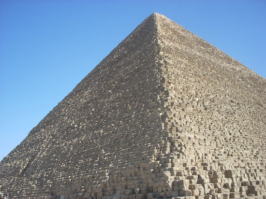 Keops Pyramid: The Great Pyramid is the only remaining wonder of the ancient world.