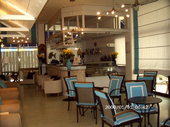 Manila Hotel : Hotelbar mit Aussenbereich