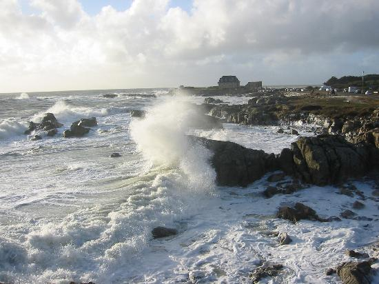 Le Fort De L'Ocean: You get an idea of the wind  . . . .
