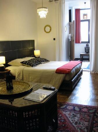 La Casa BXL: The room.