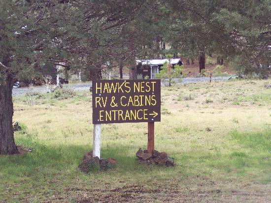 Hawk's Nest Tionesta : Entrance