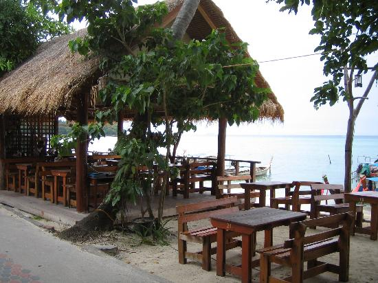 Phi Phi Andaman Legacy: If you see this restaurant, you're almost at the Andaman Legacy. This is a great place to eat wi