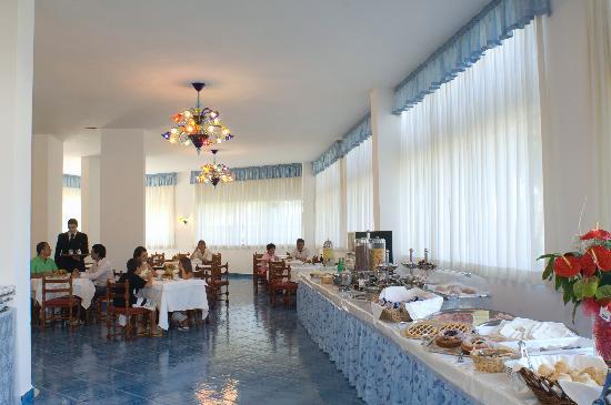 Байя-Домиция, Италия: Sala Breakfast