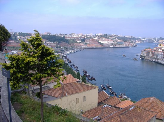 Oporto, Portugal: The river Douro