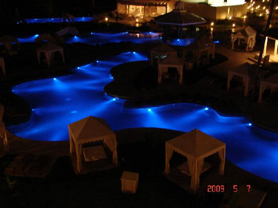 Iberostar Grand Hotel Bavaro : view from balcony @ nite