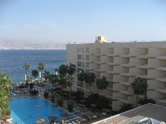 U Suites Eilat: View From Our Balcony
